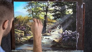 Colorful Creek | Paint with Kevin ®
