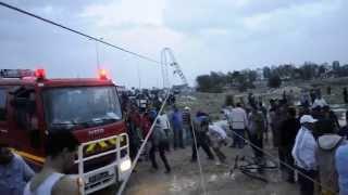 حادثة انهيار مبنى معمل بسبب الاعصار ومقتل 3 افراد
