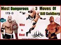 Download Video Download WWE गोल्डबर्ग के 3 सबसे खतरनाक मूव्स | Most Dangerous Moves Of Bill Goldberg | Explained In Hindi 3GP MP4 FLV