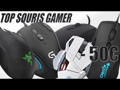 TOP 5 SOURIS GAMER -50€