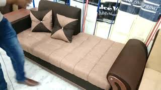 Branded Sofa Cum Bed Double bed   Box Stores   Space Saver Prices Islamabad Pakistan 2019