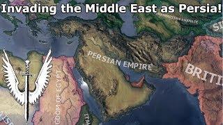 Restoring the Persian Empire in Hoi4! (Speedrun/Timelapse) [Rise of the Tsar]