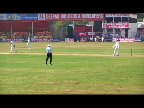 Indian Cricket Match |International players |Ranji trophy 2016-2017 |Baroda vs Uttarpradesh(Part 1)