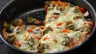 Chicken Pan Pizza | Sanjeev Kapoor Khazana