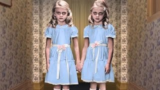 Watch These Twins Recreate the Creepiest Horror Movie Children!