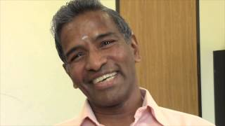 SOULJOURNS ~ MOHAN MANIKKAM, Ph. D. - LIVES TO SERVE OTHERS - SEES LIFE AS PURE JO