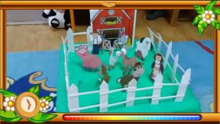 How to Make an Animal Farm from Paper with Your Kids