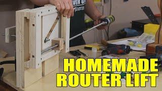 Building A Router Lift - 141