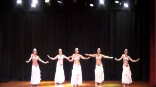 Campinho 2013 - Mata Hari - Samra Hanan e Alunas
