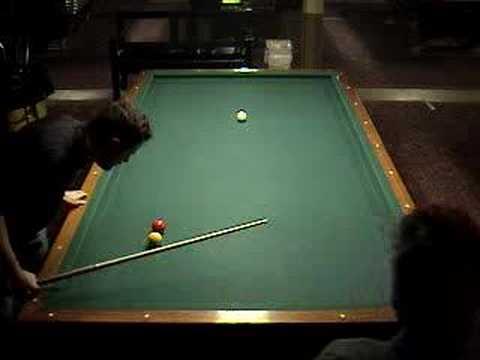 3 Three Cushion Billiards 12 27 2007 part 1