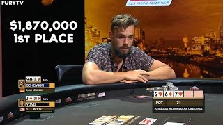 Incredible Poker Heads Up In High Stakes Final Table
