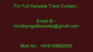 Tumi Janona Naki Bojhona - Karaoke - Kumar Sanu - Surer Rajanigandha