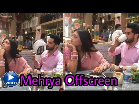 Xxx Mp4 Finally Mehak And Shaurya Aka Mehrya Are Together In Offscreen Video Much Awaited ❤️ 3gp Sex