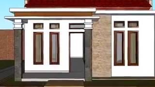 Rumah ukuran 6 x10 Desain Rumah Minimalis