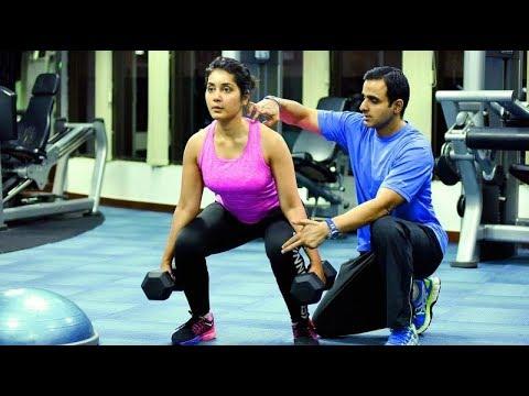 Raashi Khanna Workout At Gym Video   Rashi Khanna Doing Boxing   Heroines GYM Workout  Top Telugu TV