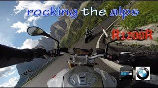 Rocking Alps - BMW R1200R LC