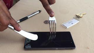 Scratch Resistance test on Gorilla Glass 3 #MicromaxCanvas5