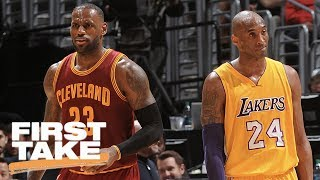 Mamba Or The King: Who's Better? | First Take | May 23, 2017