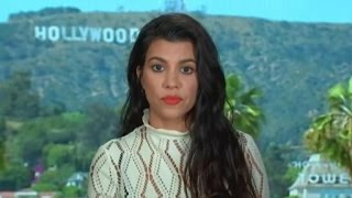 Kourtney Kardashian Accused of 'Blanking' on TV Host's Question About Kim's Robbery Ordeal