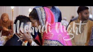 INDIAN MUSLIM WEDDING : Mehndi Night Shaif