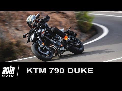 KTM 790 DUKE ESSAI POV Auto Moto