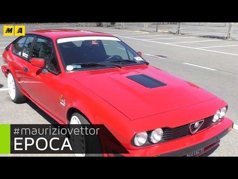 Epoca. Ecco una bellissima Alfa Romeo Alfetta GTV 2.5 Gruppo A