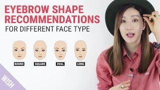 Perfect Eyebrow Shapes for Your Face
