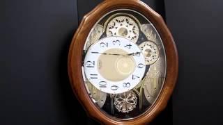 AMERICAN GALA CLOCK 4MH861WU23 Rhythm Small World Musical Motion Clock