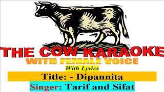 Dipannita Bangla Karaoke for male Singers with Female Voice