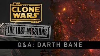 Darth Bane - The Lost Missions Q&A | Star Wars: The Clone Wars