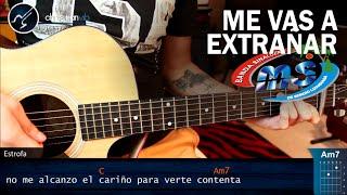 Como tocar Me Vas a Extrañar en Guitarra BANDA MS | Tutorial COMPLETO