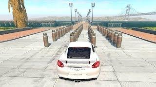 BeamNG drive | Tanques de Gas VS Autos