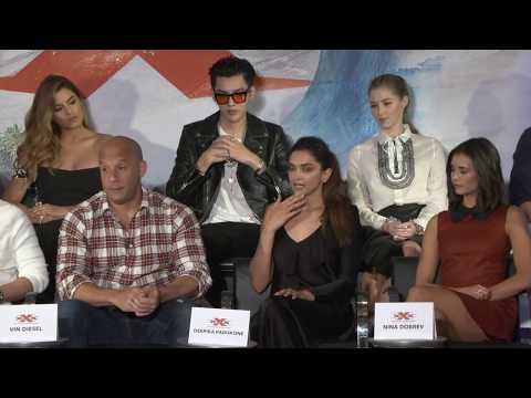 Xxx Mp4 XXx Return Of Xander Cage LA PRESS CONFERENCE Vin Diesel Nina Dobrev Deepika Padukone 3gp Sex