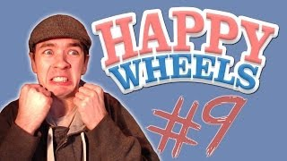 Happy Wheels - Part 9 | BEST FACIAL EXPRESSION EVER! | BETTY'S A NINJA!