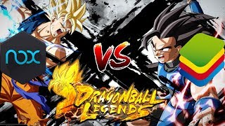Nox Emulator Vs Bluestacks Emulator (Dragon Ball Legends APK Download)