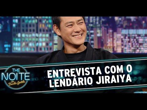 The Noite 21 11 14 Entrevista Jiraiya