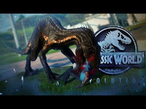 Xxx Mp4 Jurassic World Evolution INDORAPTOR ESCAPE Indo VS Giga Rex Spino Fallen Kingdom Gameplay 3gp Sex
