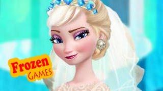 DIsney Frozen Games | Frozen Wedding Dress Frozen Games For Kids Girls Games