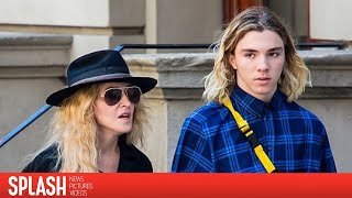 Download Rocco Ritchie is all Smiles as He Visits Madonna at Her London Home 3Gp Mp4