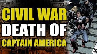 Marvel Civil War: Death of Captain America