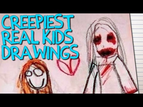 14 CREEPY Children's Drawings That Will TERRIFY You!