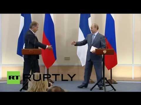 Russia: Putin discusses sanctions, Ukraine with Finnish counterpart