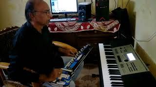 Kitna maza aa raha hai cover on banjo by Ustad Yusuf Darbar// Arshad Darbar