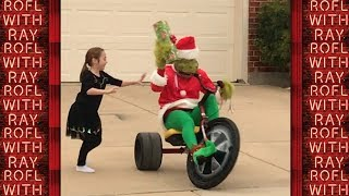 THE GRINCH Who TERRORIZES Small Children - Christmas Prank