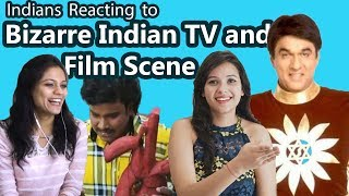 Indians React to Bizarre & Funny TV, Movie scenes | Say Whaaat!