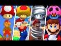 Evolution of Super Mario Mushroom Power-Ups (1985 - 2019)