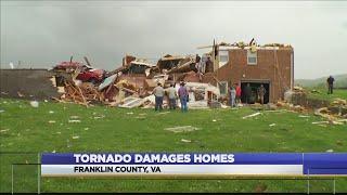 Franklin County, VA Tornado Damage