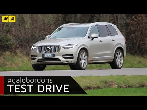 Volvo XC90 test drive AMboxing