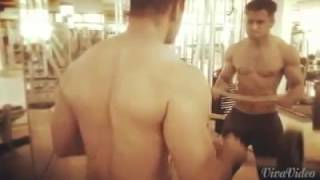 Syed Zeeshan Ali - Shirtless excercise