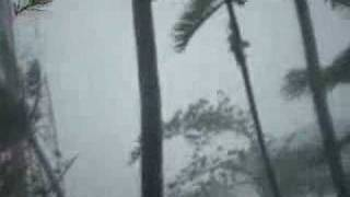 Rangoon being hit by Nargis cyclone in morning of May 3